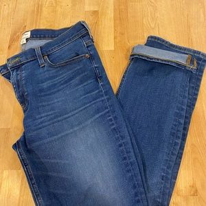 J. Crew Match Stick Jeans